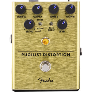 Fender® Pugilist Distortion Pedal for Electric Guitar - The Music Gallery