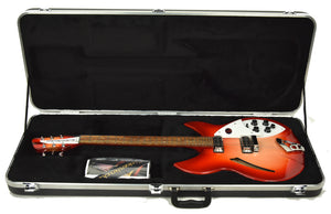Rickenbacker 330 Thinline Semi-Hollow Electric Guitar in Fireglo 2031705 - The Music Gallery