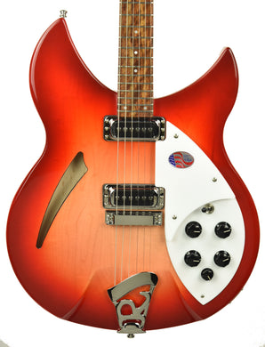 Rickenbacker 330 Thinline Semi-Hollow Electric Guitar in Fireglo 2031705
