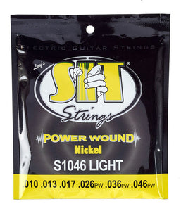 SIT Power Wound .010-.046 Light Electric Guitar Strings