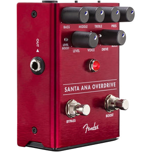 Fender® Santa Ana Overdrive Pedal for Electric Guitar CHNF18016525 - The Music Gallery