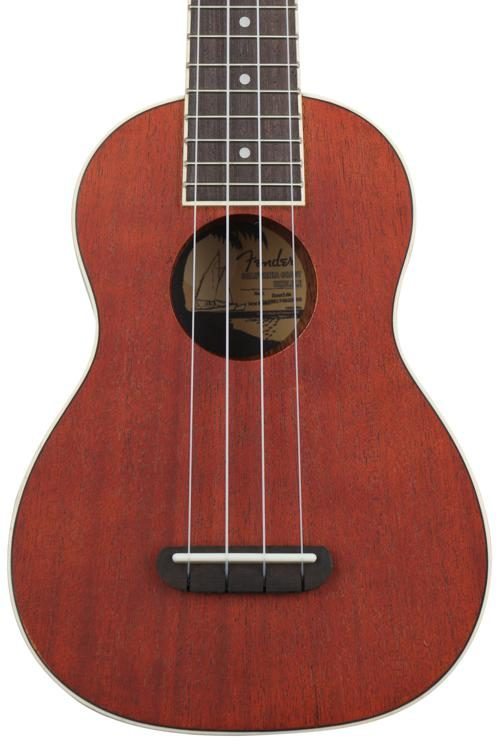 Fender® Seaside Soprano ukulele in Natural SN# CAXNH17272426 | The  Music Gallery