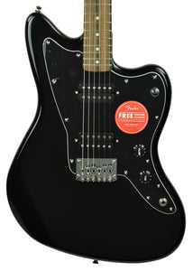 Squier Affinity Jazzmaster HH Electric Guitar in Black CY190809738 - The Music Gallery