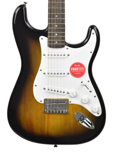 Squier Bullet Stratocaster HT in Brown Sunburst ICSJ20043683 - The Music Gallery