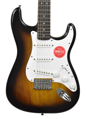 Squier Bullet Stratocaster HT in Brown Sunburst ICSK20000033 - The Music Gallery