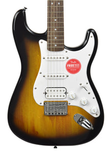 Squier Bullet® Stratocaster® HT HSS in Brown Sunburst ICSK20012661 - The Music Gallery
