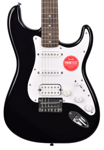 Squier Bullet Stratocaster HT HSS in Black ICSK20014778 - The Music Gallery
