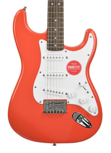 Squier Bullet® Stratocaster® HT in Fiesta Red ICSI20009117 - The Music Gallery