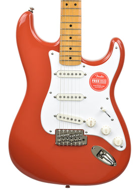 Squier Classic Vibe '50s Stratocaster® in Fiesta Red ISS2032483 - The Music Gallery