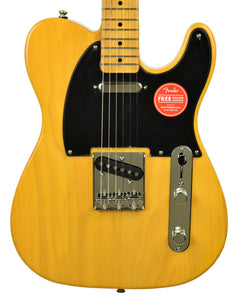 Squier Classic Vibe '50s Telecaster in Butterscotch Blonde ISS2022809 - The Music Gallery