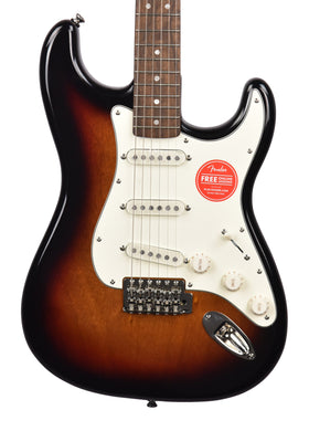 Squier Classic Vibe 60s Stratocaster in Three Tone Sunburst ISSL20001364 - The Music Gallery