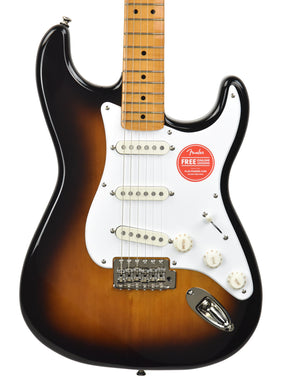 Squier Classic Vibe '50s Stratocaster® in Two Color Sunburst ISS2027997 - The Music Gallery
