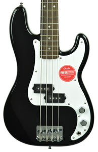 Squier Mini P Bass Electric Bass in Black ICS20084096