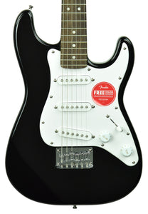 Squier Mini Stratocaster Electric Guitar in Black ICS20051057 - The Music Gallery