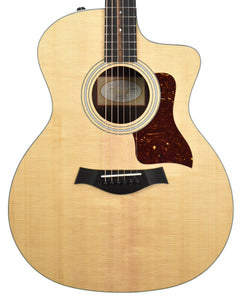 Taylor 214ce Grand Auditorium Acoustic-Electric in Natural 2211210343 - The Music Gallery