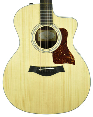 Taylor 214ce Grand Auditorium Acoustic Electric Guitar 2204090208 - The Music Gallery