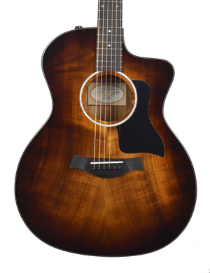 Taylor 224ce-K Deluxe Koa Acoustic-Electric 2212090266 - The Music Gallery