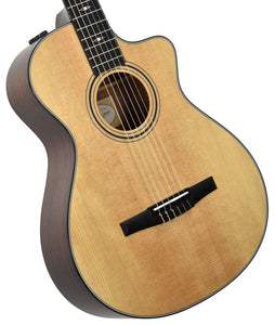 Taylor 312ce-n 12 Fret Nylon Acoustic Electric Guitar 1108258081 - The Music Gallery