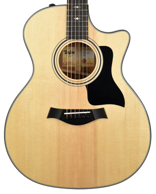 Taylor 314ce Grand Auditorium Acoustic-Electric in Natural 1211100010 - The Music Gallery