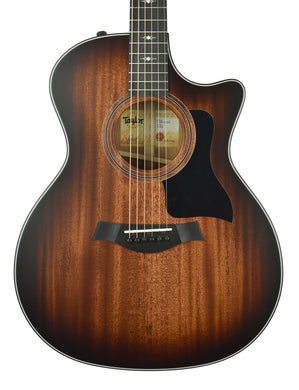 Taylor 324ce Acoustic Electric Guitar in Shaded Edge Burst 1202110008