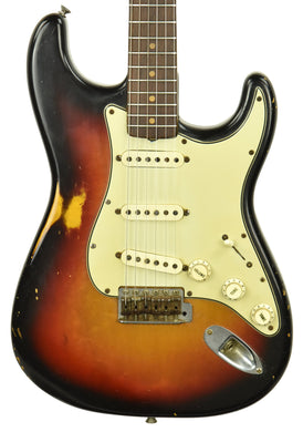 Used 1964 Fender Stratocaster in Three Tone Sunburst L36932 - The Music Gallery