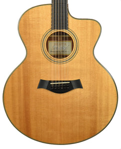 Used 2002 Taylor LKSM Leo Kottke Signature Model 12 String Acoustic-Electric 20020708108 - The Music Gallery