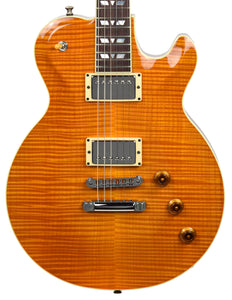 Used 2003 Hamer Monaco Super Pro Electric Guitar in Trans Amber 332402 - The Music Gallery