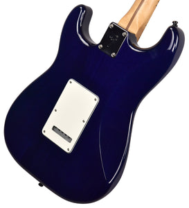 Used Fender Factory Special Run Player Stratocaster HSS Plus Top in Blue Burst MX18089444 - The Music Gallery