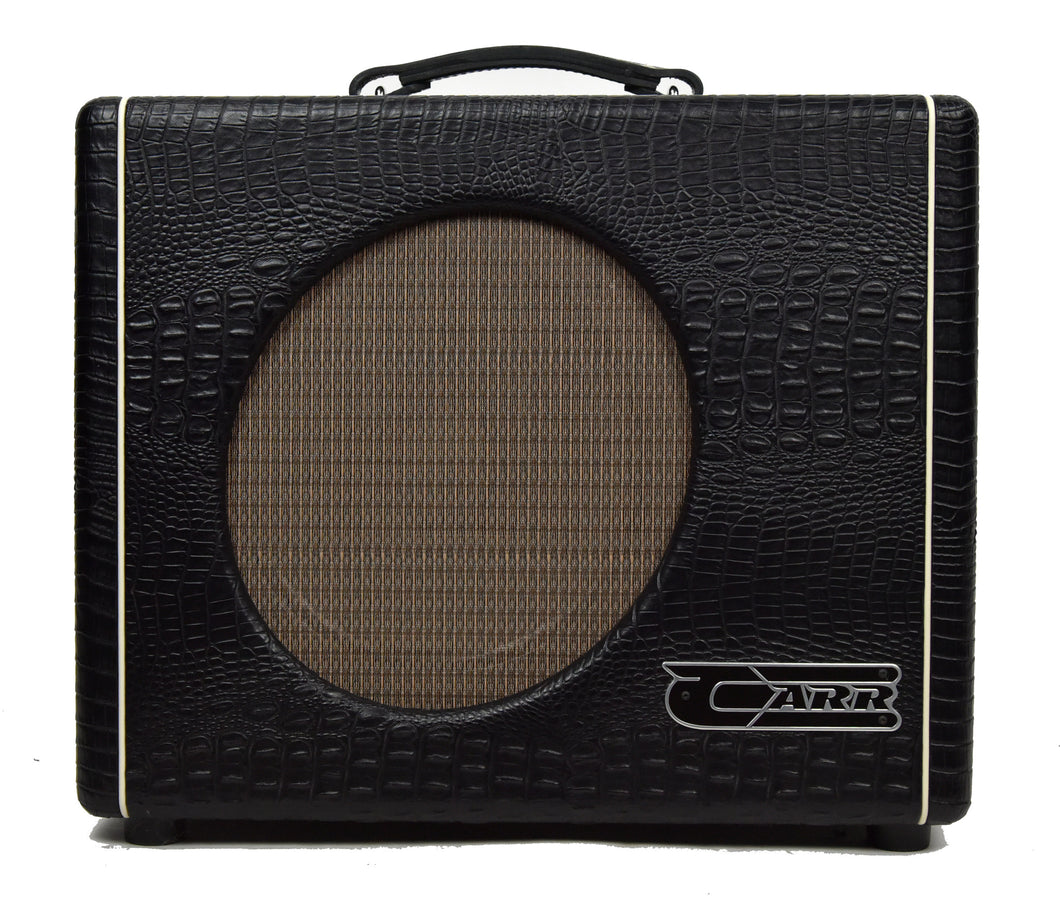 Used Carr Mercury V 1x12 Combo Amp in Black Gator 0689