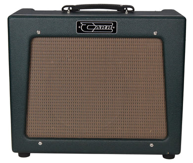 Used Carr Rambler 1x12 Combo Guitar Amplifier Green Tolex 01966