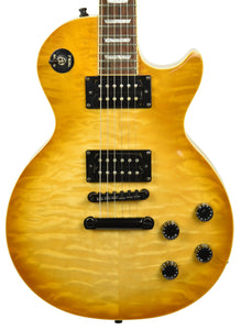 Used 2000 Epiphone Les Paul Classic Quilt Top Limited Edition in Trans Amber U001111813