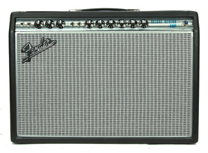Used Fender '68 Custom Deluxe Reverb 1x12 Guitar Amplifier B-571454 - The Music Gallery