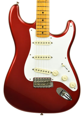 Used Fender American Vintage Reissue '57 Stratocaster Candy Apple Red LE01662