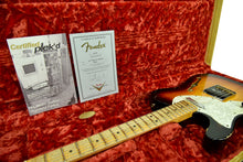 Used 2011 Fender Custom Shop Thinline Telecaster Relic Lefty Strung Righty R6301