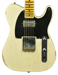 Used Fender Custom Shop 52 H/S Telecaster Relic in White Blonde R16387