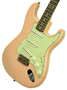 Used 2013 Fender Custom Shop 63 Stratocaster Relic Shell Pink R71254