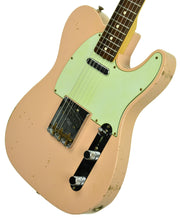 Used 2013 Fender Custom Shop 63 Telecaster Relic in Shell Pink R71436 - The Music Gallery