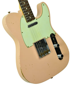Used 2013 Fender Custom Shop 63 Telecaster Relic in Shell Pink R71436