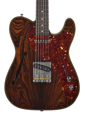 Used Fender Custom Shop Artisan Thinline Telecaster Natural Cocobolo R94650 - The Music Gallery