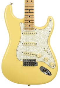 Used Fender Deluxe Roadhouse Stratocaster in Vintage White MX15688481 - The Music Gallery