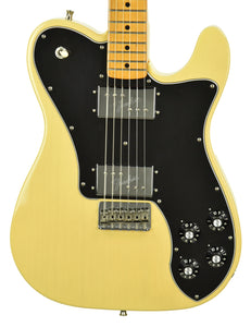 Used Fender Vintera 70s Telecaster Deluxe in Vintage Blonde MX19130561 - The Music Gallery