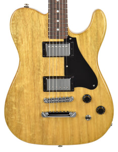 Used 2011 G&L USA Limited Edition ASAT Deluxe II Korina in Aged Natural CLF063747 - The Music Gallery