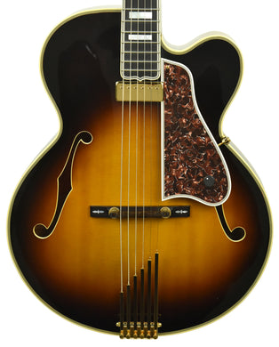 Used Gibson Custom Lee Ritenour L-5 in Antique Sunburst Finish 23073001 - The Music Gallery
