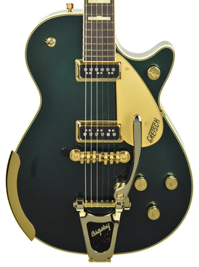 Used Gretsch G6128T-57 Vintage Select '57 Duo Jet with Bigsby in Cadillac Green JT18093630