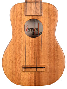Used Kamaka KK Koa Soprano Ukulele - The Music Gallery