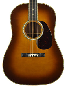 Used Martin Custom Shop D-45 w/Slope Shoulders and Slotted Peghead 2000219 - The Music Gallery