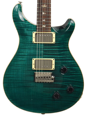 Used 2002 PRS Custom 22 10 Top Electric Guitar in Teal 263316 - The Music Gallery