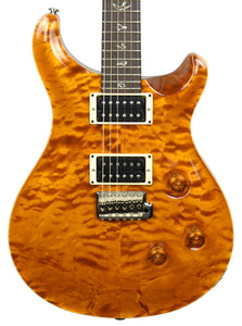 Used 2010 PRS Custom 24 Quilt in Amber 168394 - The Music Gallery