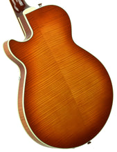 Used 2016 Sadowsky Archtop Semi-Hollow in Violin Burst w/OHSC A1499 - The Music Gallery