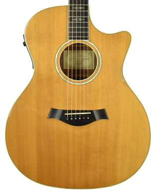 Used 2002 Taylor W-14-CE Acoustic Guitar in Natural 20020813156 - The Music Gallery